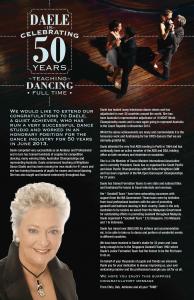 Daele Fraser ballroom dancing